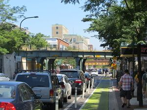 Bicycle Lane, Evanston, Illinois.jpg