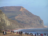 Golden Cap from Charmouth - geograph.org.uk.jpg